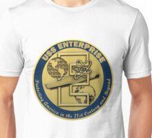 USS Enterprise (CVN-80) Crest Unisex T-Shirt