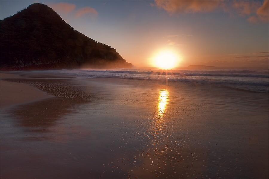 SUNRISE IN PARADISE by Lynden