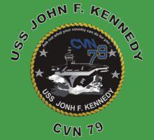 USS John F. Kennedy (CVN-79) Crest One Piece - Short Sleeve