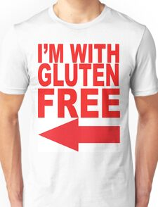 I'm With Gluten Free T-Shirt Unisex T-Shirt