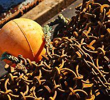 Rusty Chains ~ Sea Seeker by Susie Peek