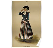 Fancy dresses described or What to wear at fancy balls by Ardern Holt 158 Incroyable Poster