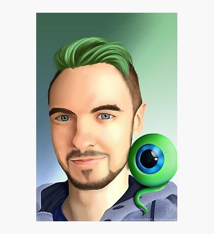 Jacksepticeye's companion Photographic Print