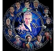 Doctor who (all 13 doctors) Photographic Print