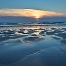 Sunset at Fistral Beach by bertie01