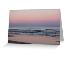 Venus Transit and Mother of Pearl  Greeting Card