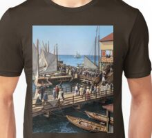 Pier at the inlet, Atlantic City, N.J. year 1904 T-Shirt