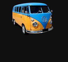 Orange and Blue Volkswagen Kombi Van Unisex T-Shirt