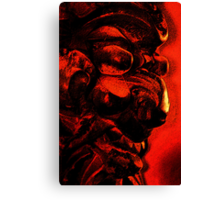 Demon Mask Canvas Print