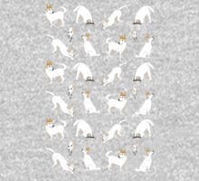 White labrador One Piece - Short Sleeve