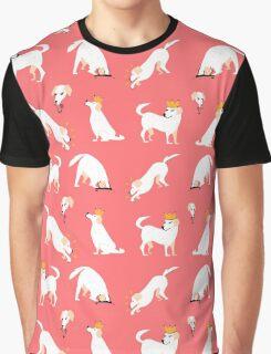 White labrador Graphic T-Shirt