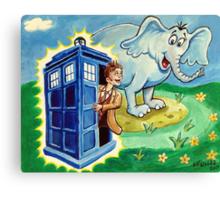 Horton hears a Dr. Who Canvas Print