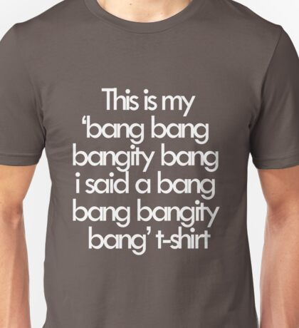 If you know what I mean Unisex T-Shirt