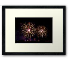 Madonna tal-gilju fireworks  Framed Print
