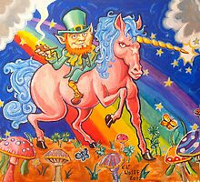 Blarney the Stoned Leprachaun by eliwolff