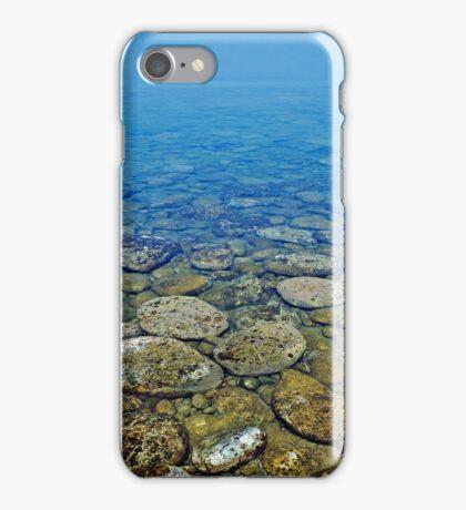 Greek peeble waterscape iphone case iPhone Case/Skin