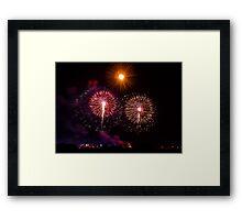 Madonna tal-gilju fireworks pt2 Framed Print