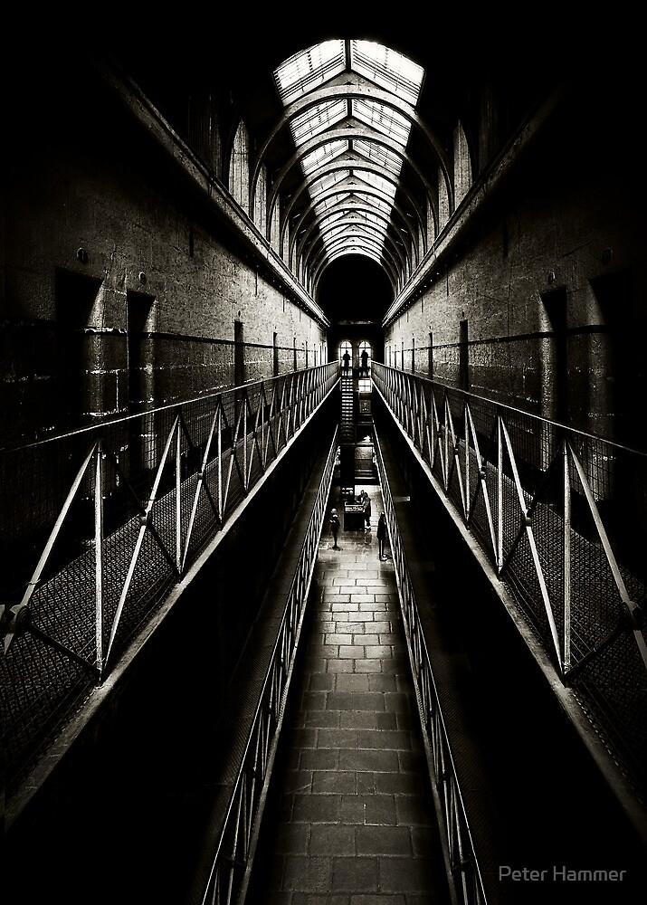 Melbourne Gaol by Peter Hammer