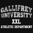 Gallifrey University Athletic Department by atlasspecter
