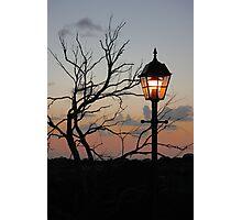 Lighting the Sunset Photographic Print