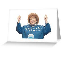 Melissa McCarthy SNL Greeting Card