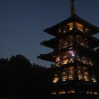 Twilight Pagoda by zamix