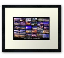 30 Days at Trannies Beach Framed Print