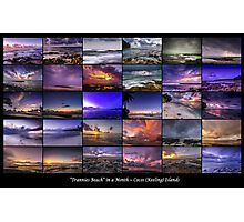 30 Days at Trannies Beach Photographic Print