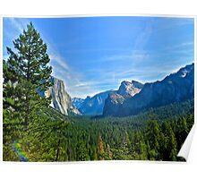 Grand Yosemite Valley Poster