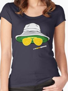 Fear and Loathing In Las Vegas Raoul Duke Women's Fitted Scoop T-Shirt