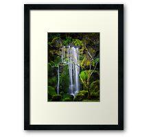 Enchanted Falls Framed Print