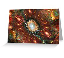 Expanding Light ~ Big Bang Theory Greeting Card