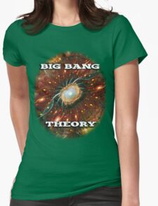 Expanding Light ~ Big Bang Theory Womens Fitted T-Shirt