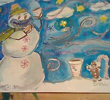 snowman n small things by starlily77