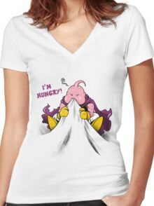 I'm Hungry! Women's Fitted V-Neck T-Shirt