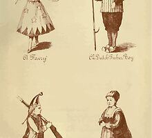 Fancy dresses described or What to wear at fancy balls by Ardern Holt 326 Fairy Dutch Fisher Boy Grenadier Vandyke by wetdryvac