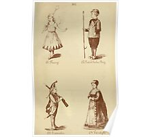 Fancy dresses described or What to wear at fancy balls by Ardern Holt 326 Fairy Dutch Fisher Boy Grenadier Vandyke Poster