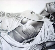 Joanna Reclining by John Reardon