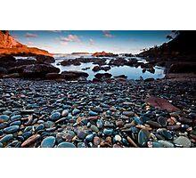 Stones: Mossy Point Photographic Print