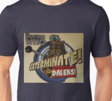 Comic style doctor who dalek  Unisex T-Shirt