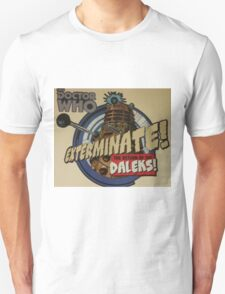 Comic style doctor who dalek  T-Shirt