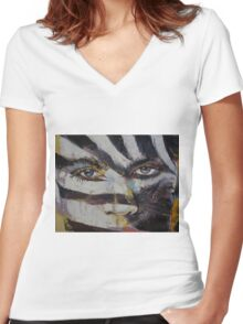 Carnival Women's Fitted V-Neck T-Shirt