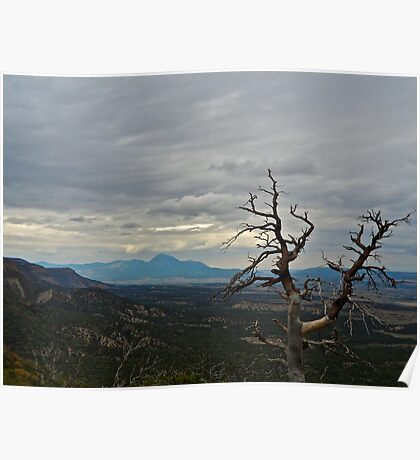 Gloom in Mesa Verde Poster