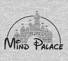Mind Palace - (black text) One Piece - Long Sleeve