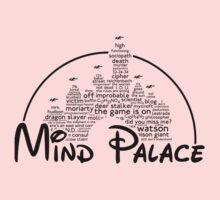 Mind Palace - (black text) One Piece - Short Sleeve