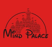Mind Palace - (black text) Kids Tee