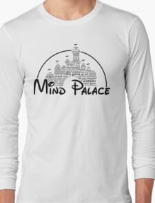 Mind Palace - (black text) Long Sleeve T-Shirt