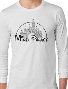 Mind Palace - (black text) Long Sleeve T-Shirt