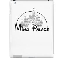 Mind Palace - (black text) iPad Case/Skin