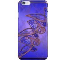 Copper Butterflies iPhone Case/Skin